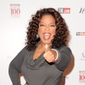 Oprah Winfrey arrives to the 17th Annual Women In Entertainment Power 100 Breakfast