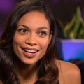 Video 871962 - Rosario Dawson Talks &#8216;Seven Pounds&#8217; Love Scene With Will Smith