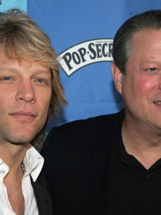 Jon Bon Jovi and Al Gore, 2006