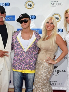 Hulk Hogan, Nick Hogan, Linda Hogan and Brooke Hogan
