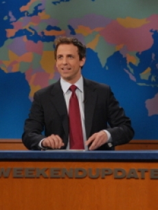 Seth Meyers on SNL's Weekend Update