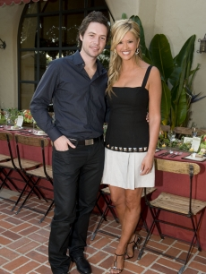 Michael Johns and Nancy O'Dell