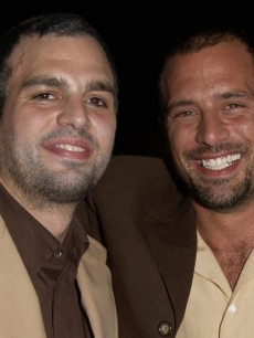 Mark Ruffalo and his brother Scott Ruffalo