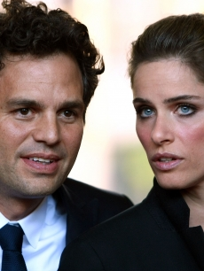 Mark Ruffalo and  Amanda Peet arrive at 'What Doesn't Kill You' premiere during the 2008 Toronto International Film Festival