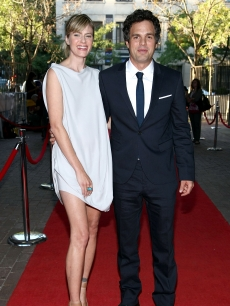 Sunrise Coigney and Mark Ruffalo arrive at 'What Doesn't Kill You' premiere during the 2008 Toronto International Film Festival