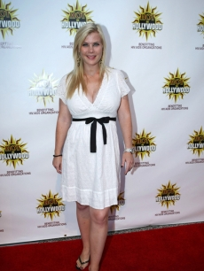 Alison Sweeney at the &#8216;Hot in Hollywood&#8217; party in Hollywood (Aug. 2008)