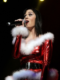 Katy Perry performs at KIIS FM's Jingle Ball 2008 in LA