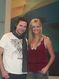Nancy O'Dell, Michael Johns and friends