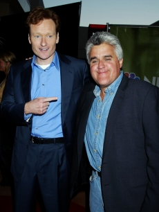 Conan O&#8217;Brien and Jay Leno, 2003