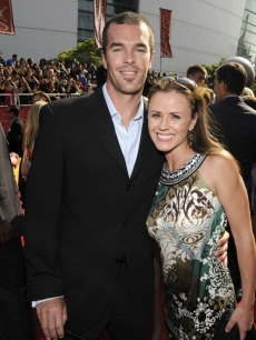 Trista and Ryan Sutter at the 2008 ESPY Awards