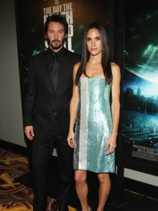 Keanu Reeves and Jennifer Connelly attend 'The Day The Earth Stood Still' Premiere in NYC