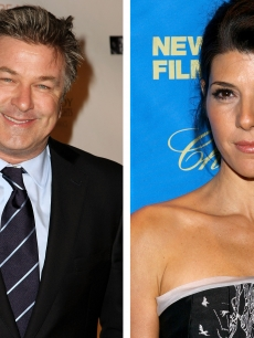 Alec Baldwin and Marisa Tomei