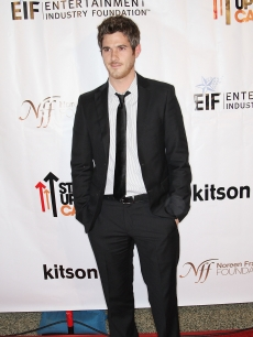 Dave Annable keeps it classic on the Stand Up 2 Cancer merchandise launch red carpet at Kitson in Hollywood