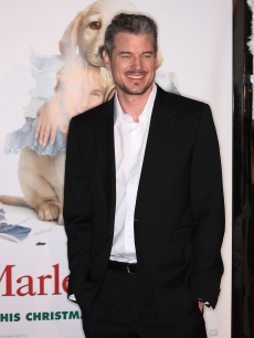 Eric Dane attends the 'Marley & Me' film premiere