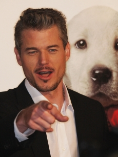 Eric Dane attends the 'Marley & Me' film premiere in LA