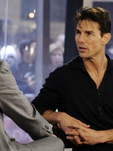 Tom Cruise on NBC's the 'Today' show on Monday with Matt Lauer