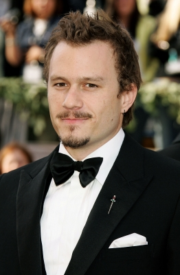 Heath Ledger at the 2006 Academy Awards