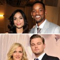 Rosario Dawson, Will Smith, Kate Winslet and Leonardo DiCaprio