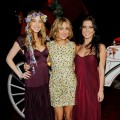 Whitney Port, Lauren Conrad, and Audrina Patridge attend the season 4 finale of MTV's 'The Hills' at Tavern on the Green on December 22, 2008 in New York City