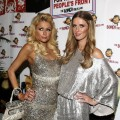 Paris and Nicky Hilton spent New Year's Eve in Sydney, Australia, at 'The Bongo Virus' party at Trademark