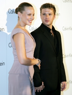 Abbie Cornish and Ryan Philippe arrive for the Calvin Klein Spring 2009 Collection launch ain Sydney, Australia