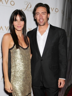 Angie Harmon and Jason Sehorn in Las V egas (Sept. 2008)