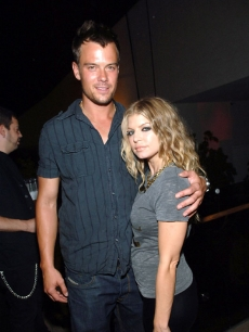 Josh Duhamel and Fergie at The Mirage in Las Vegas (July 2008)