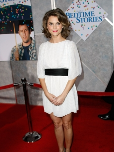 Keri Russell arrives at the premiere of Disney&#8217;s &#8216;Bedtime Stories&#8217; at the El Capitan Theatre