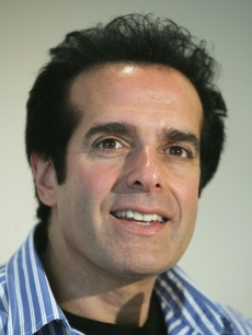David Copperfield gives a press conference in Germany, 2005