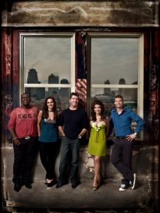 'American Idol' judges Randy Jackson, Kara DioGuardi, Simon Cowell and Paula Abdul with host Ryan Seacrest