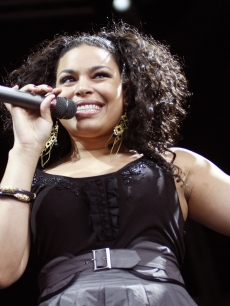 Jordin Sparks busts a move in Perth, Australia