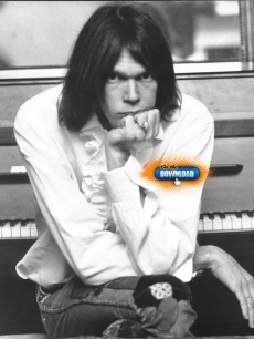 Neil Young broods in 1970