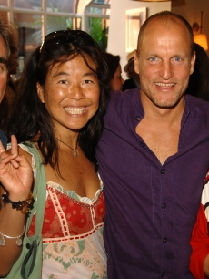 Woody Harrelson &amp; then girlfriend Laura Louie at The 32nd Annual Toronto International Film Festival on September 8, 2007