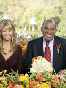Nancy O'Dell and Al Roker at the 120th Annual Parade of Roses