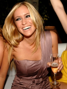 Kristin Cavallari rings in 2009 in Miami at Shore Club's Skybar