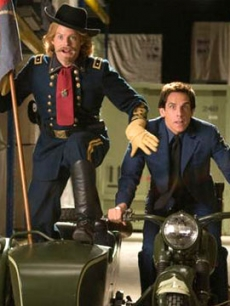Bill Hader and Ben Stiller in &#8216;Night At The Museum 2&#8217;