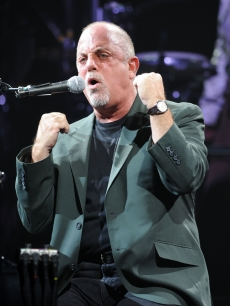 Billy Joel puts up his dukes at a sold-out show at the Hard Rock Hotel in Hollywood, Florida