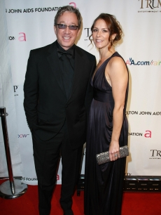 Tim Allen and Jane Hajduk in New York (Nov. 2008)