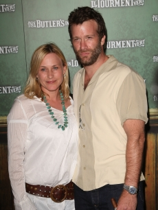 Patricia Arquette and Thomas Jane arrive at the Los Angeles premiere of the short film 'The Butler in Love' in Hollywood, California on June 23, 2008