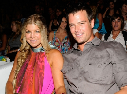 Fergie and Josh Duhamel at the 2008 Teen Choice Awards