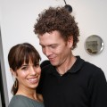 Ana Ortiz and husband Noah Lebenzon attend an event in Los Angeles, Jan. 2008