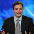 Jimmy Fallon addresses the press about his new show on NBC, Jan. 15, 2009