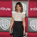 Jennifer Esposito from 'Samantha Who?' hits the red carpet after the Globes