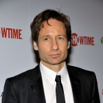 David Duchovny arrives at the official Showtime after party for the 66th Annual Golden Globe Awards