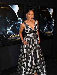 Angela Bassett attends the premiere of 'Notorious' at the AMC Lincoln Square on January 7, 2009 in New York City