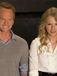 Neil Patrick Harris & Taylor Swift Get Ready For 'SNL' DL
