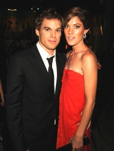 &#8216;Dexter&#8217; stars Michael C. Hall and Jennifer Carpenter (Sept. 2008)