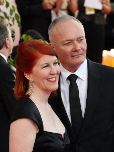 'Office' stars Kate Flannery and Creed Bratton