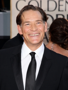 James Remar is all smiles on the Globes red carpet