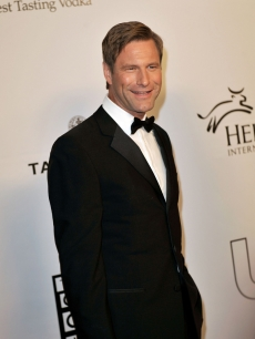 Aaron Eckhart at the Critics' Choice Awards after party